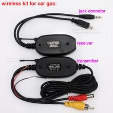 2.4G transmisor inalámbrico 2.4G receptor inalámbrico para Coche GPS portátil GPS de Mano GPS back up Opinión Posterior del Revés Módulo de la cámara