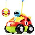 Мультфильм Дистанционного Управления Электрический Автомобиль Игрушки RC Автомобилей Высокоскоростной Симпатичные Музыкальный Для Детей