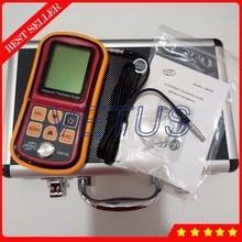 GM100 Digital Ultrasonic Thickness Gauge Tester with 1.2~220mm (Steel) Metal Width Measuring Device Sound Velocity Meter