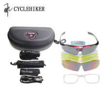 5 Lens Cycling Glasses Set for Men Women sports glasses bike cycling sunglass mtb gafas ciclismo occhiali 2018 oculos ciclismo