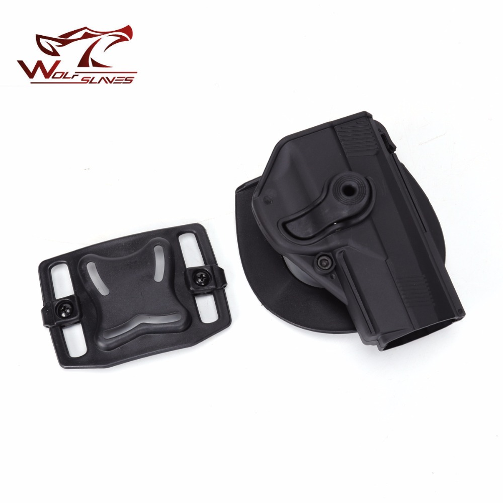 Tactical PX4 Right Handed Pistol Holster CQC Style Beretta PX4 Military Airsoft Belt Holster Black Hunting Accessories