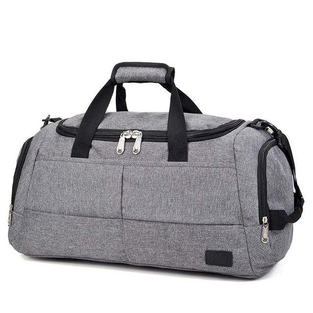 237096286aa7 Unisex Gym Bag Travel Outdoor Shoulder Bags Handbag Sports Duffel Men  Crossbody Large Storage Luggage Sac De Sport New XA492WA