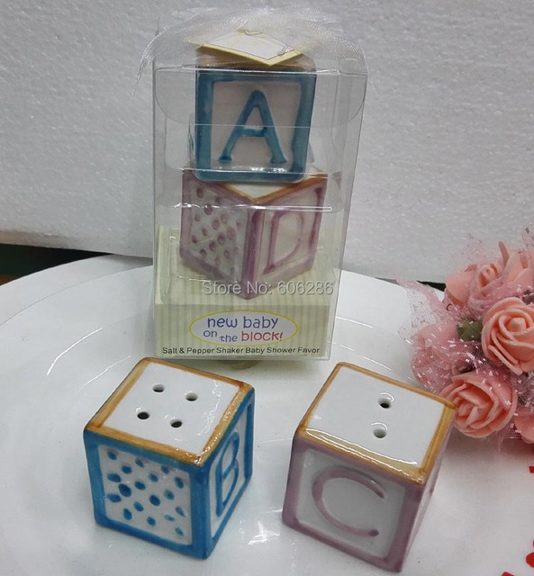 Free Shipping 4pcs Lot 2pairs Ceramic Baby On The Block Letter