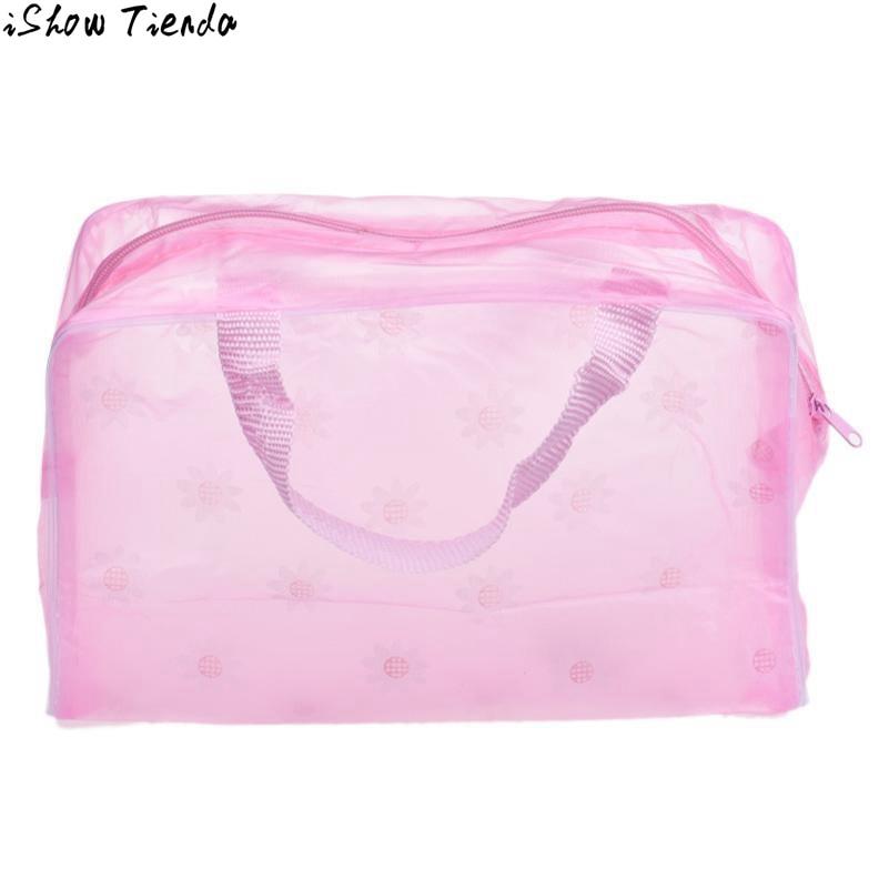 cosmetic bag Women Portable makeup bags Cosmetic Toiletry Travel Wash Toothbrush Pouch Organizer Bag maleta de maquiagem#0