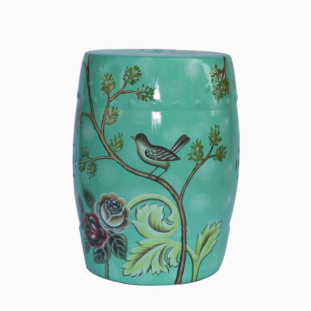 Online Buy Wholesale chinese ceramic garden stool from China