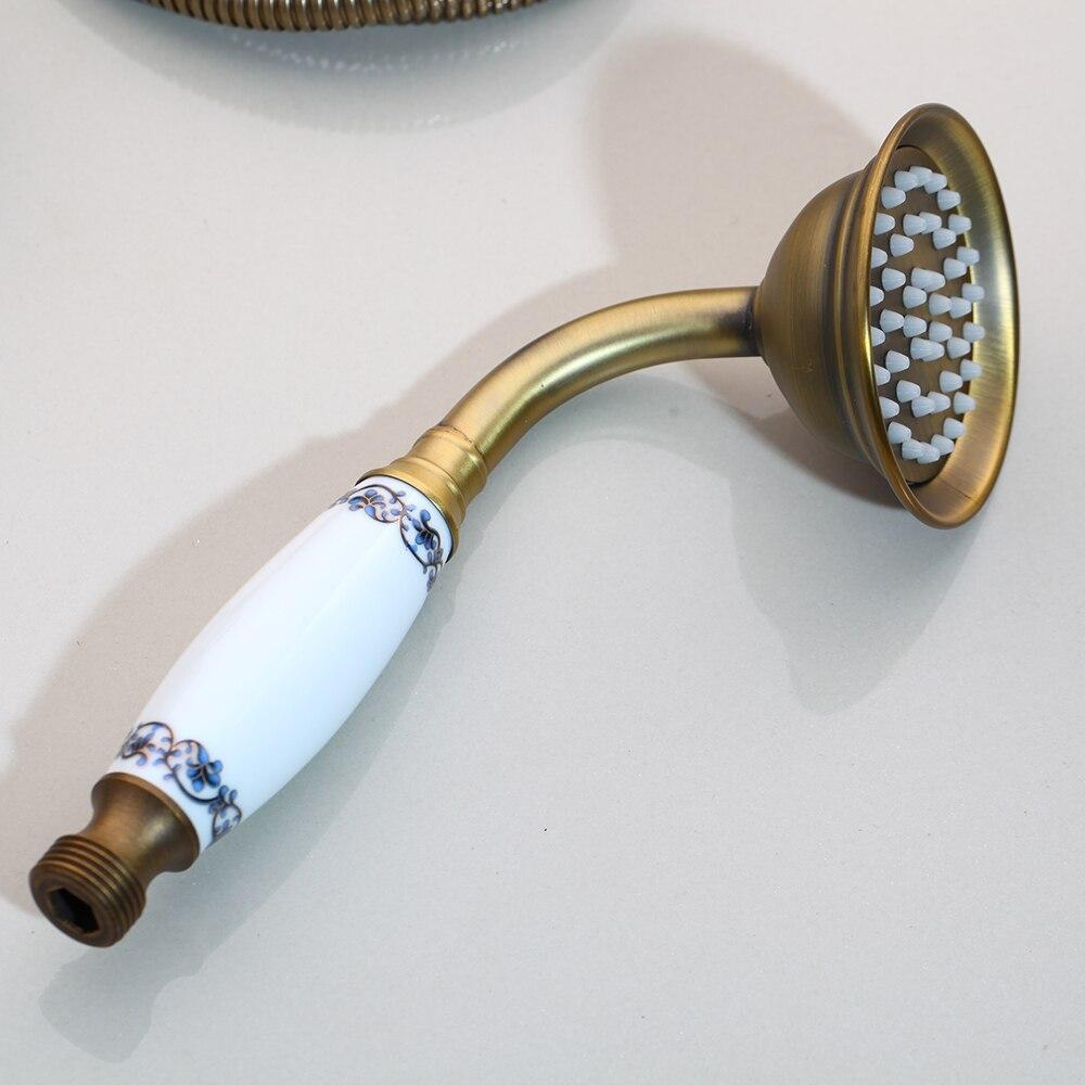 Torayvino Badewanne Armaturen Dusche Antike Schwarz Wand Verbergen Bad Armaturen Dusche Set Wasserhahn Mixer Dusche Set W/Hand Spray