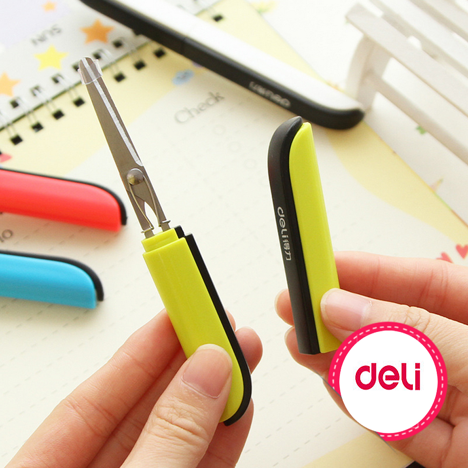 Candy Hidden Creative Pen Design Student Safe Scissors Paper Cutting Art Office School Supply With Cap Kids Stationery Diy Tool 2019 New Fashion Style Online Scissors