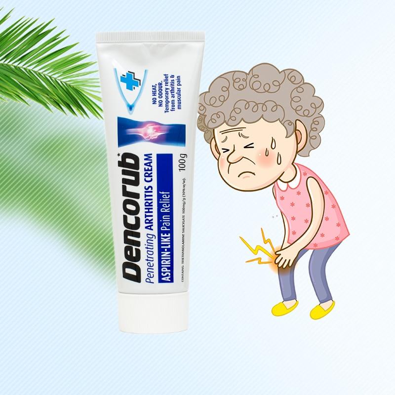Dencorub Arthritis Cream no heat no odour relief from Arthritis, Rheumatism, Lumbago & Fibrositis, sore backs & muscles pain Онихомикоз