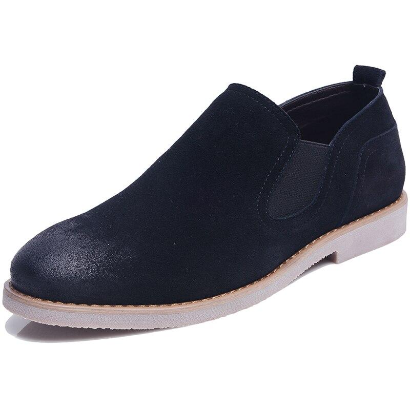 2019 Britischen Chelsea Stiefel Männer Knöchel Echtem Leder Stiefel Hohe Qualität Chelsea Stiefel Bullock Gummi Sohle Chelsea Schuhe