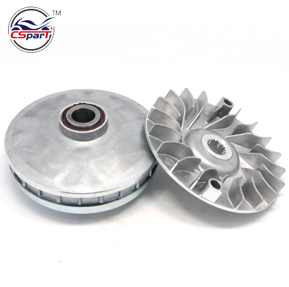 132MM 18T Variator Kit Xingyue Linhai Buyang YP VOG 250 257 260 300 DE JCL  Znen 169MM 170MM 173MM ATV Buggy Scooter Parts