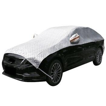 Papel de aluminio sombrilla automotriz sombrilla de aluminio media cubierta parasol automotriz producto automotriz