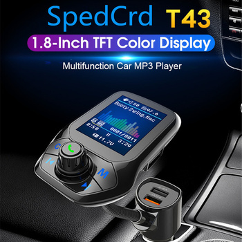 Universal Car Wireless Bluetooth MP3 Player USB Fast Car Charger FM Transmitter Receiver Usb Quick Charger for IPhone Samsung