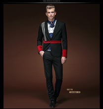 Free Shipping men's New autumn spring fashion personality small Suit Tuxedo Suit Coat Jacket 15102 custom-made Customized