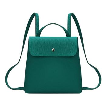 Fashion Women Backpack High Quality PU Leather Backpacks for Teenage Girls Female School Shoulder Bag Bagpack mochila lady bag