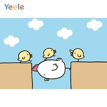 Yeele Photocall Maternal Love Chicken Room Painting Photography Backdrop Personalized Photographic Backgrounds For Photo Studio