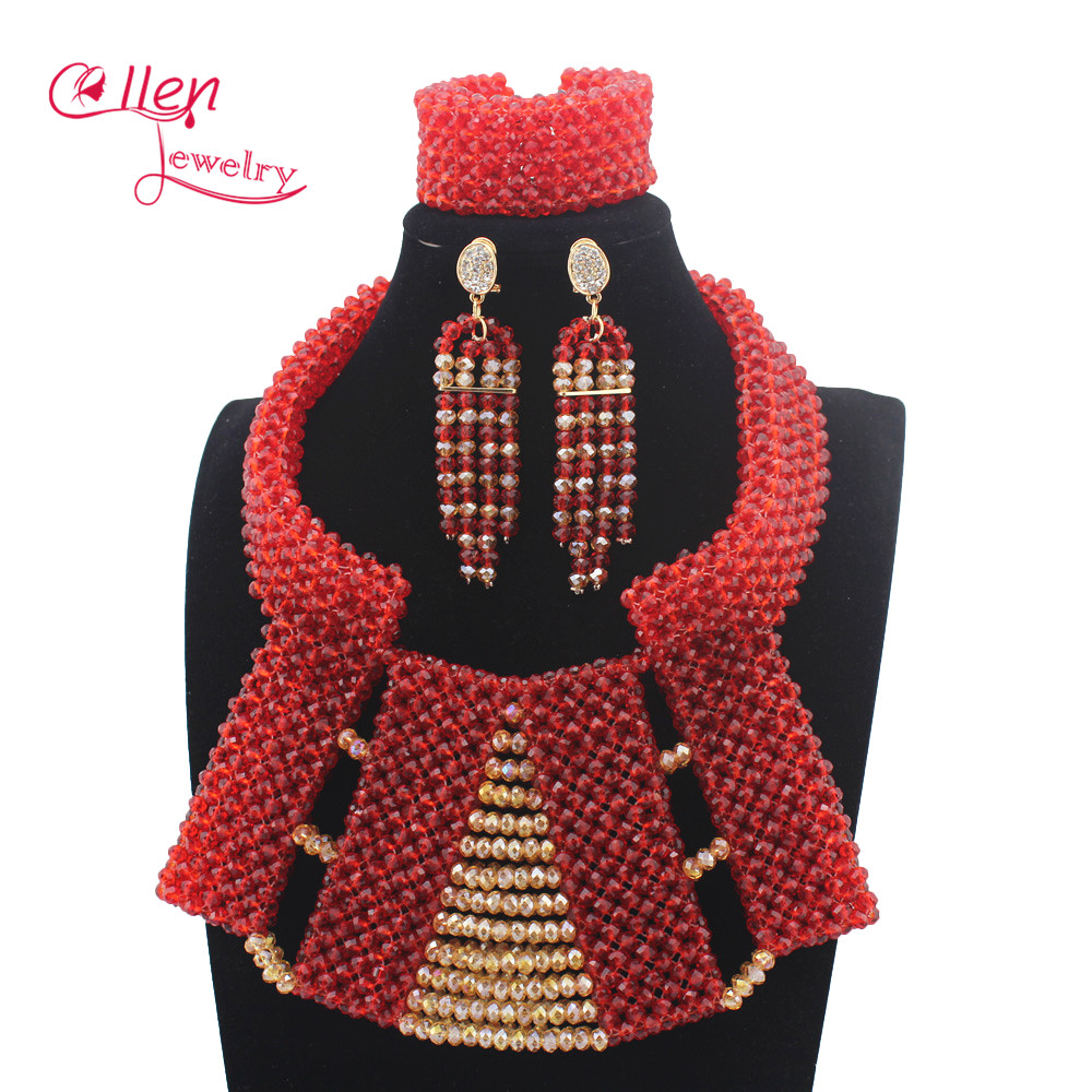 African Beads Jewelry Set Crystal Beads Necklace Set Nigerian Wedding African Jewelry Set Crystal Jewelry Set W13961African Beads Jewelry Set Crystal Beads Necklace Set Nigerian Wedding African Jewelry Set Crystal Jewelry Set W13961