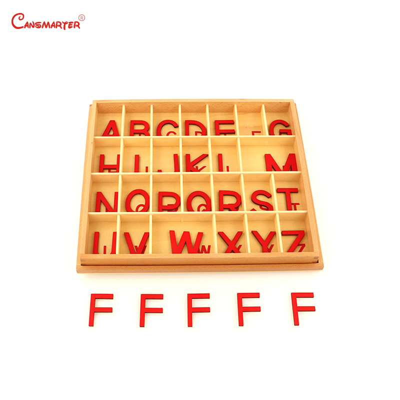 Montessori Language Toys Exercise Large Movable Alphabet Capital Box Preschool Teaching Kids Educational Toy Beech Wood LA024-Q3Montessori Language Toys Exercise Large Movable Alphabet Capital Box Preschool Teaching Kids Educational Toy Beech Wood LA024-Q3