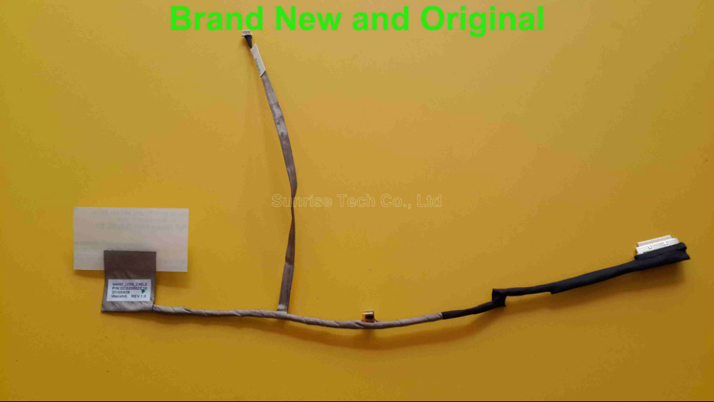 New and original LVDS LED Cable for Acer Aspire NAV50 NAV60 Gateway LT21 V3 551G Cable NAV50 LT21 LCD LVDS Cable DC02000ZE10 excellent quality laptop motherboard for hp 5330m 669013 001 mainboard da0f11mb8d0 fully tested good condition