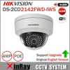 HIKVISION WIFI Camera 4MP IP Camera DS 2CD2142FWD IWS MINI WIFI Dome Camera Support Audio And