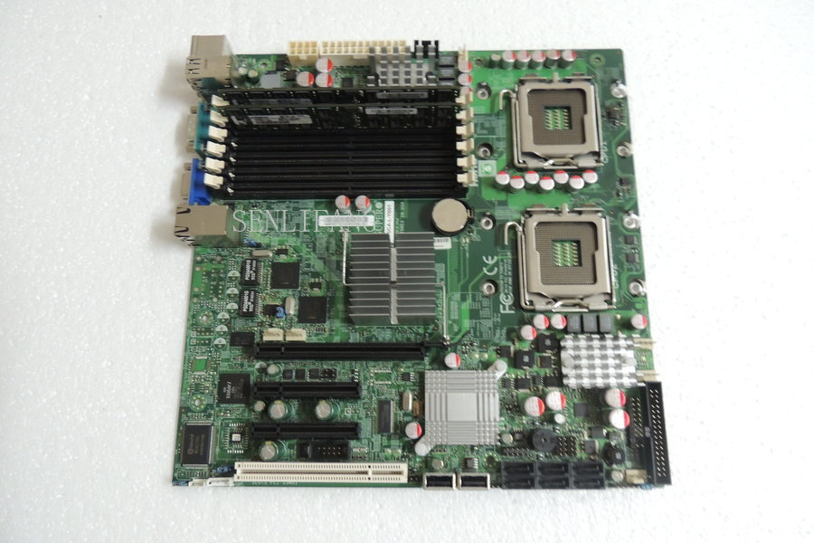 Freies Verschiffen X7dca-l Workstation Motherboard Mit Pci-e 16x Slot Unterstützt L5420, X5460 771 Den Speichel Auffrischen Und Bereichern