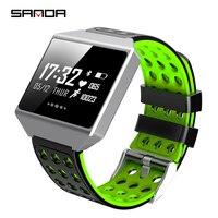 Sanda New Smart Watch Waterproof Professional Sport Modes Smart Band Heart Rate Blood Pressure Oxygen Long term Standby Watch