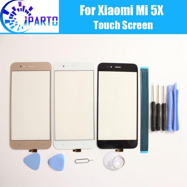 For Xiaomi Mi 5X Mi5X Touch Screen Panel 100% Guarantee New Glass Panel Touch Screen Glass For Xiaomi Mi 5X Mi5X+ Gifts
