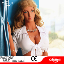 Cosdoll 4.9ft/5.2ft/5.5ft Full Body Female Silicone Sex Dolls With Metal Skeleton Big Breasts Sex Products for Men Masturbating