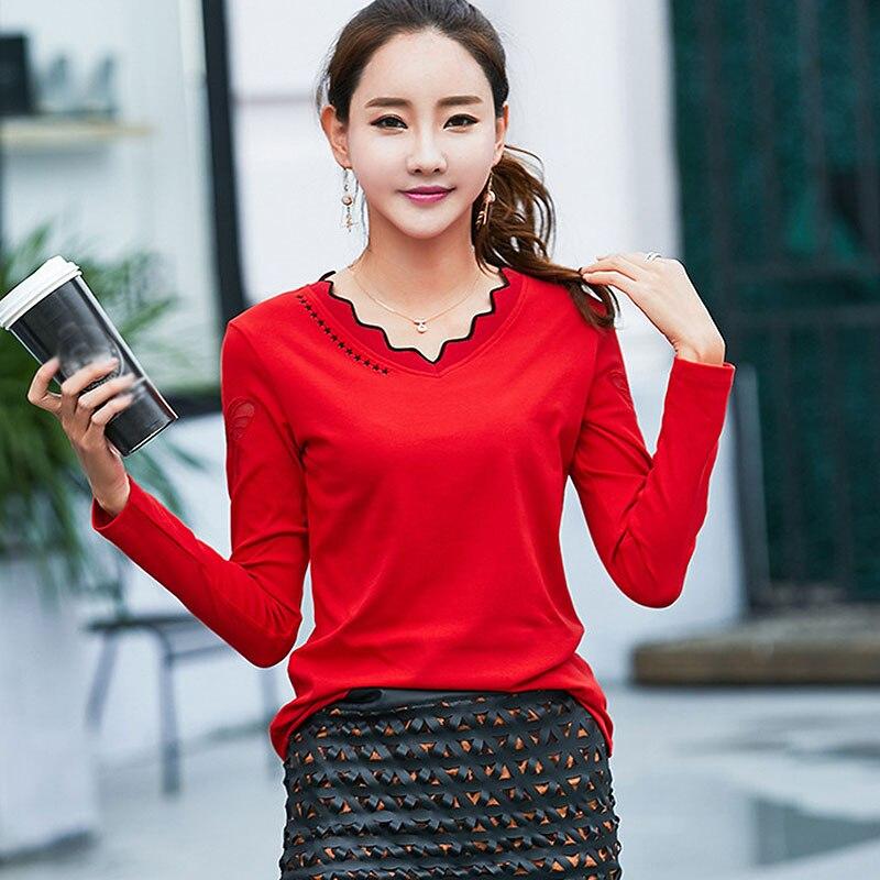 878fc1e52bb BOBOKATEER хлопковая футболка Женская топы camisetas mujer 2019 футболка с длинным  рукавом женская футболка смешные футболки