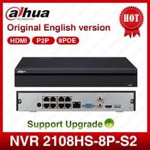 NVR2108HS-8P-S2 8CH Dahua POE NVR Red Grabador de Vídeo Full HD 1080 P Con 1 SATA Interfaz 2USB