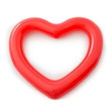 Сердце Форма Плавание ming кольцо гигантские надувные морской
