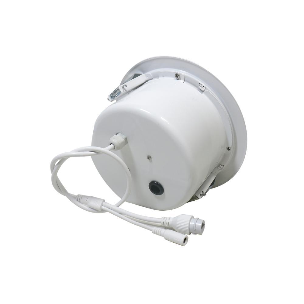 Ben & Fellows Dante network In ceiling Speaker Metal 15W 6 inch with RJ45 port, supports POE power supply Dante speaker 3
