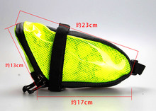 Cycling bicicleta Waterproof Seat Tail Pouch Rear Package Black GUB Bike Saddle Bag MTB Mountain Bicycle