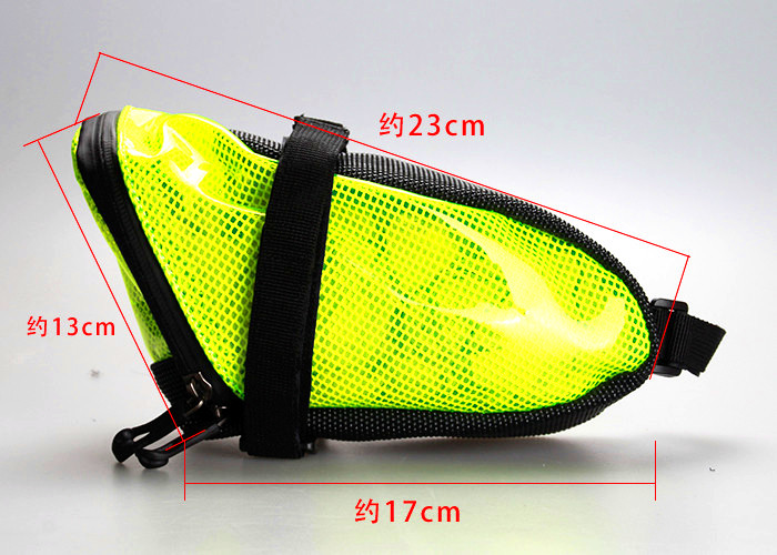 Cycling bicicleta Waterproof Seat Tail Pouch Rear Package Black GUB Bike font b Saddle b font