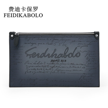 51ec3e9e24d1 FEIDIKABOLO новый держатель для карт бумажник лонгвеллеты, мужские из  искусственной кожи мужской кожаный кошелек клатч