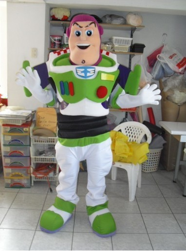 Costume de mascotte de jouet boisé d'astronaute Buzz Lightyear, Costume de publicité, Costume de bande dessinée à vendre carnaval Animal livraison gratuite