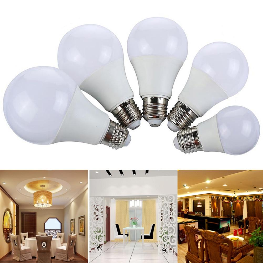 TSLEEN 5PCS High Power E27 3W 5W 7W 9W 12W LED Light Bulb Bombilla Led Lamp 85-260V Spotlight Lampada Bulb Leds Light for Home