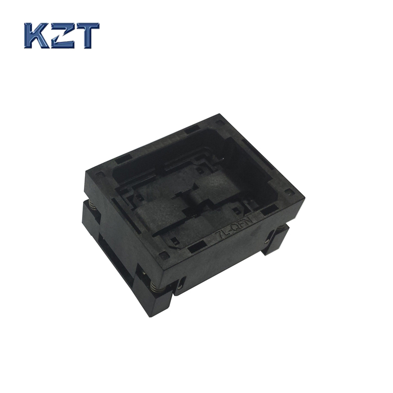 QFN48 Burn in Socket QFN48 MLF48 IC Test Socket Pitch 0.5mm OPEN TOP Chip Size 7*7 Flash Adapter Programming Socket ltc2203cuk pbf ic ацп 16 битный 25msps 48 qfn ltc2203cuk 2203 ltc2203 ltc2203c ltc2203cu 2203c