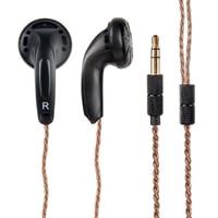 100 New Arrival In Ear Earphones Flat Head Plug Earphone HiFi Bass Earbuds DJ Earbuds Heavy