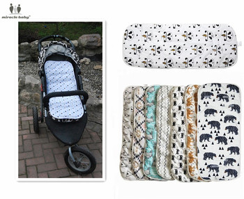 Miracle Baby Stroller Accessories Cotton Diapers Changing Nappy Pad Seat Carriages/Pram/Buggy/Car General Mat