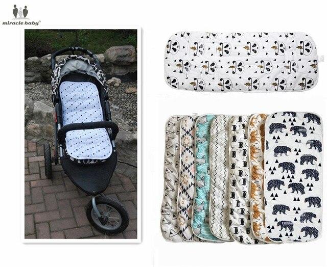 Milagro cochecito de bebé accesorios pañales de algodón cambiar los pañales almohadilla asiento carruajes/cochecito/coche/General Mat para nuevo nacido