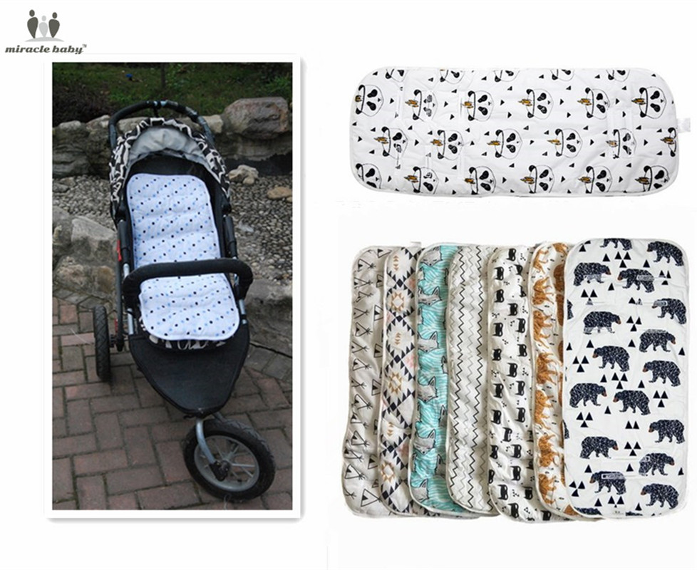 Manyo Baby Changing Pad Reusable Waterproof Stroller Diaper Folding Soft Mat Washable Blue