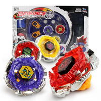 New 2 Style Spinning Tops Beyblade Metal Fusion 4D Launcher Grip Set Fight Master Rare Beyblade