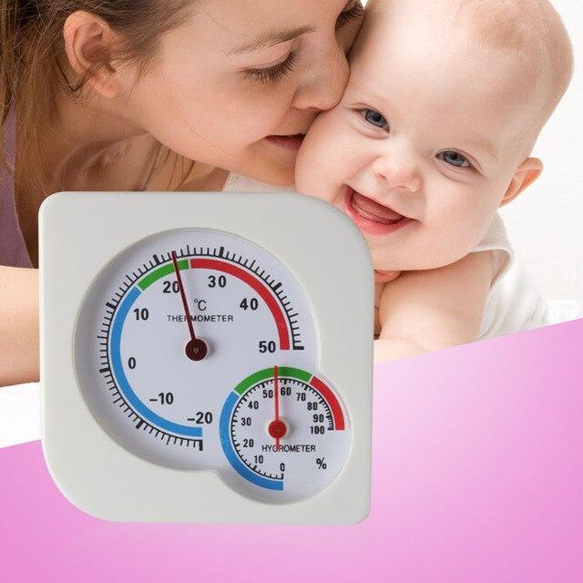Mini Baby Analoge Temperatuur Hygrometer Meten Indoor Outdoor ...
