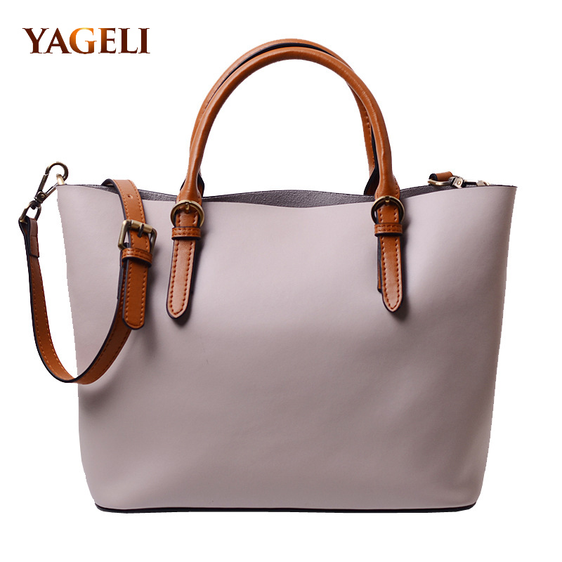 2018 Genuine Leather Handbags For Women Tote Bag High Quality Ladies Leather Shoulder Bags Fashion Famous Brands Female Handbags 2018 soft genuine leather bags handbags women famous brands platband large designer handbags high quality brown office tote bag