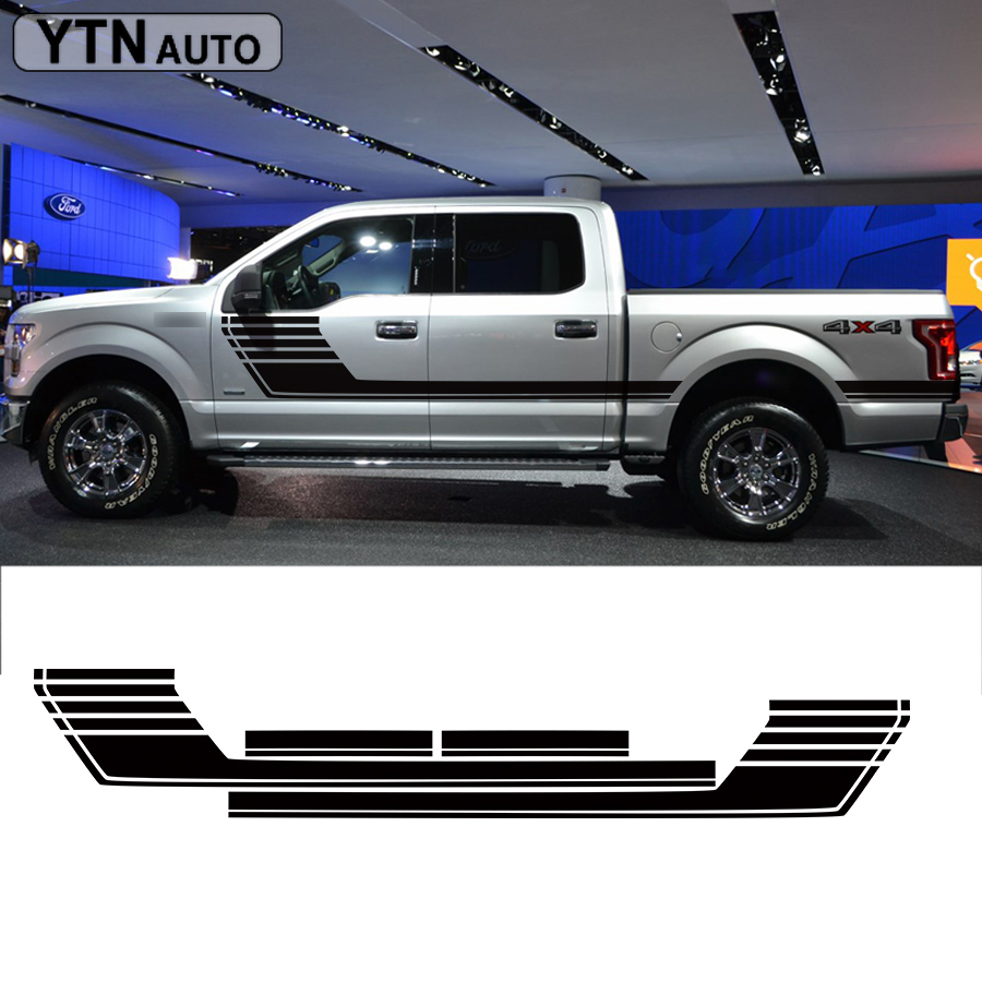 2015-2016 NEW FORD F-150 HOOD STRIPE DECAL VINYL STICKERS HIGH QUALITY GRAPHICS