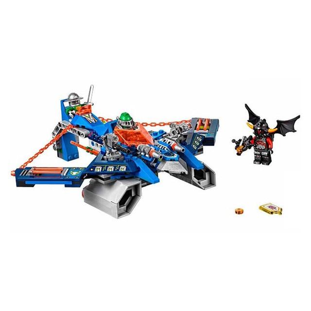 Gifts 70320 Pogo Bela 10517 Nexus Nexo Knights Aaron Hit Giant Crossbow Models Building Blocks Bricks Compatible Legoe Toys