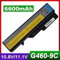 6600 mah bateria do portátil para lenovo g560 g565 g570 g575 g770 v360 g470 V370 V470 V570 Z370 Z460 Z465 Z470 Z475 Z480 Z560 Z565 Z570