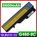 6600mAh laptop battery for LENOVO G560 G565 G570 G575 G770 G470 V360 V370 V470 V570 Z370 Z460 Z465 Z470 Z475 Z480 Z560 Z565 Z570