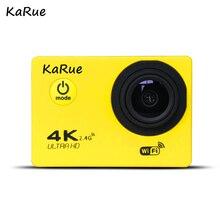 KaRue J7000R Sport Action Camera Ultra HD 4K WiFi 1080P 150D 2.0 inch Screen Waterproof Bike Helmet Cam Mini A camera