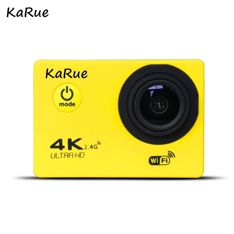 KaRue J7000R Sport caméra d'action Ultra HD 4 K WiFi 1080 P 150D 2.0 pouces écran étanche casque de vélo caméra Mini A